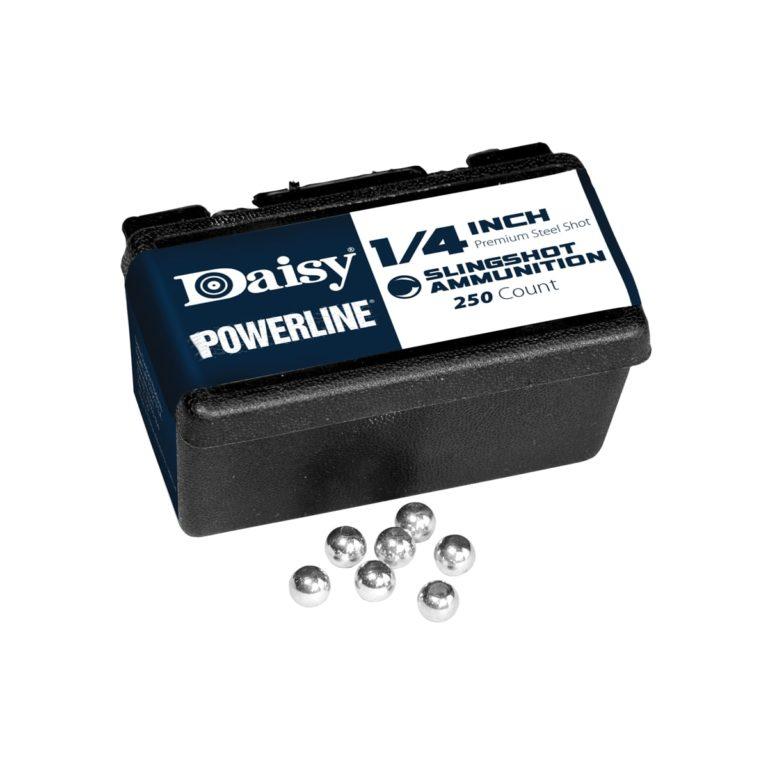 DAISY-1-4-INCH-POWERLINE-STEEL-SLINGSHOT-AMMO